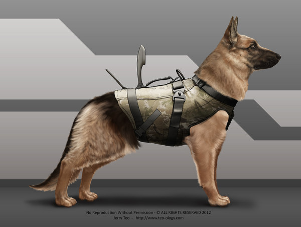 German Shepherd K9 Version