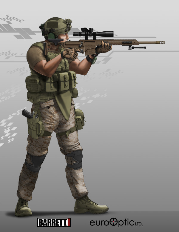 Barrett M98B MRAD